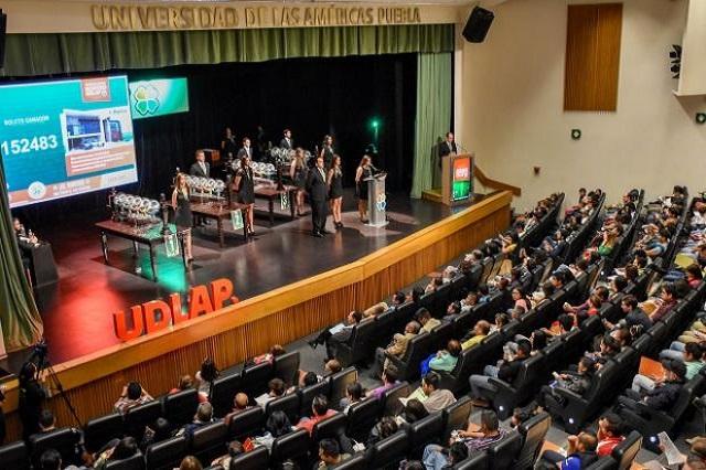 Jalisciense se lleva el primer premio del Sorteo Udlap 2017