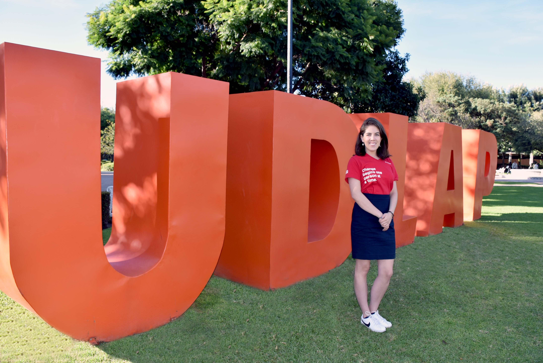 Egresada UDLAP es Líder Joven Global con 17 jóvenes de otros países