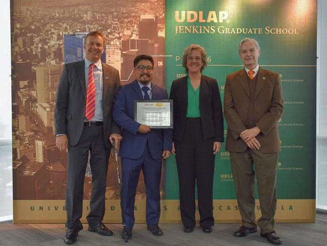 La UDLAP y BASF premian a jóvenes químicos