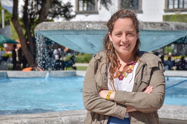 Estudiante UDLAP aborda el culto a los volcanes, en Congreso Nacional