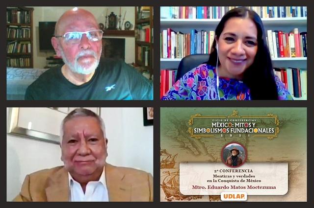 Matos comparte razones de la caída de Tenochtitlan y Tlatelolco