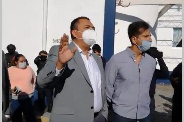 Se van a paro policías de Tehuacán por falta de pago
