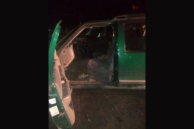 Pánico en Acatzingo tras tiroteo en el barrio de San Miguel