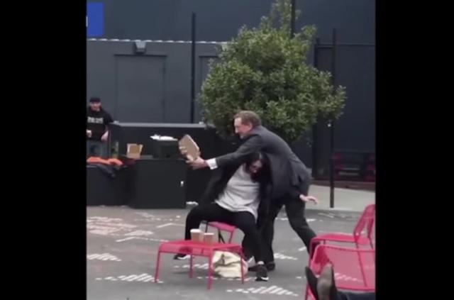 Multimillonario dueño de los Giants de San Francisco es captado golpeando a su esposa