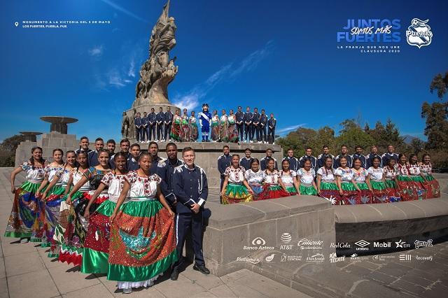 ¡Se volvieron a lucir! Puebla presenta su foto oficial para el Clausura 2020
