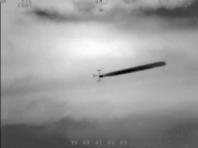 Pilotos de la Armada chilena reportaron avistamiento OVNI