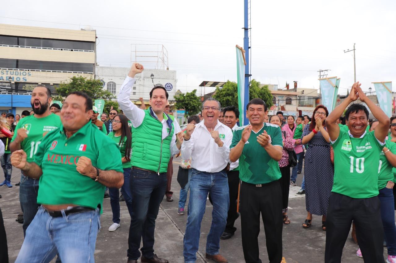 Que gane México y que gane Tehuacán, afirman Tepole y Kuri