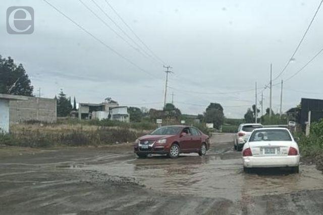 Sin mantenimiento las rutas de evacuación del Popocatépetl