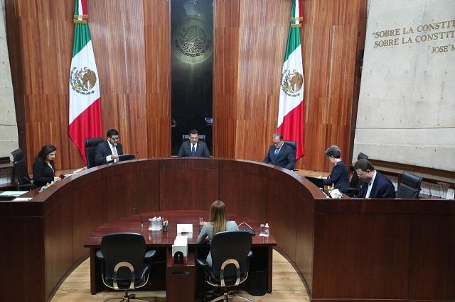 Exonera TEPJF a líder de MC por acudir a registro de Cárdenas