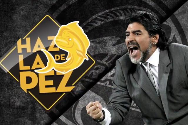 Llega Maradona a dirigir a Dorados de Sinaloa