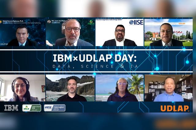 Expertos IBM dan conferencias sobre ciencia de datos en UDLAP