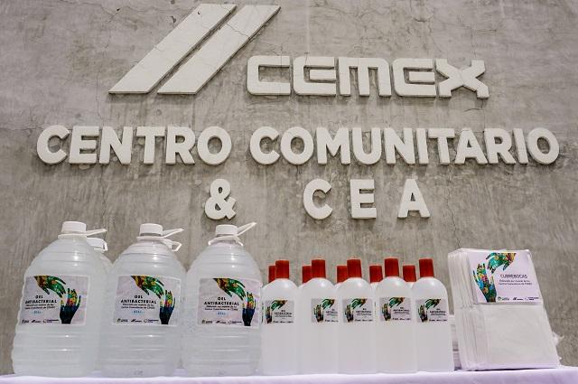 CEMEX promueve autoempleo y cuidados sanitarios en comunidades