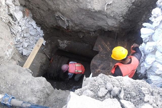 Red de drenaje y colectores creció en Puebla 186 kilómetros