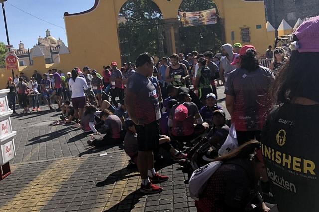 No todo salió bien en el Maratón de Puebla 2019