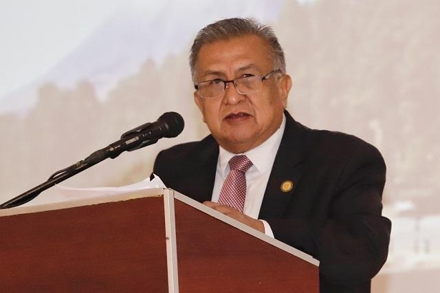 Presupuesto federal acaba con moches, destaca Huerta Corona