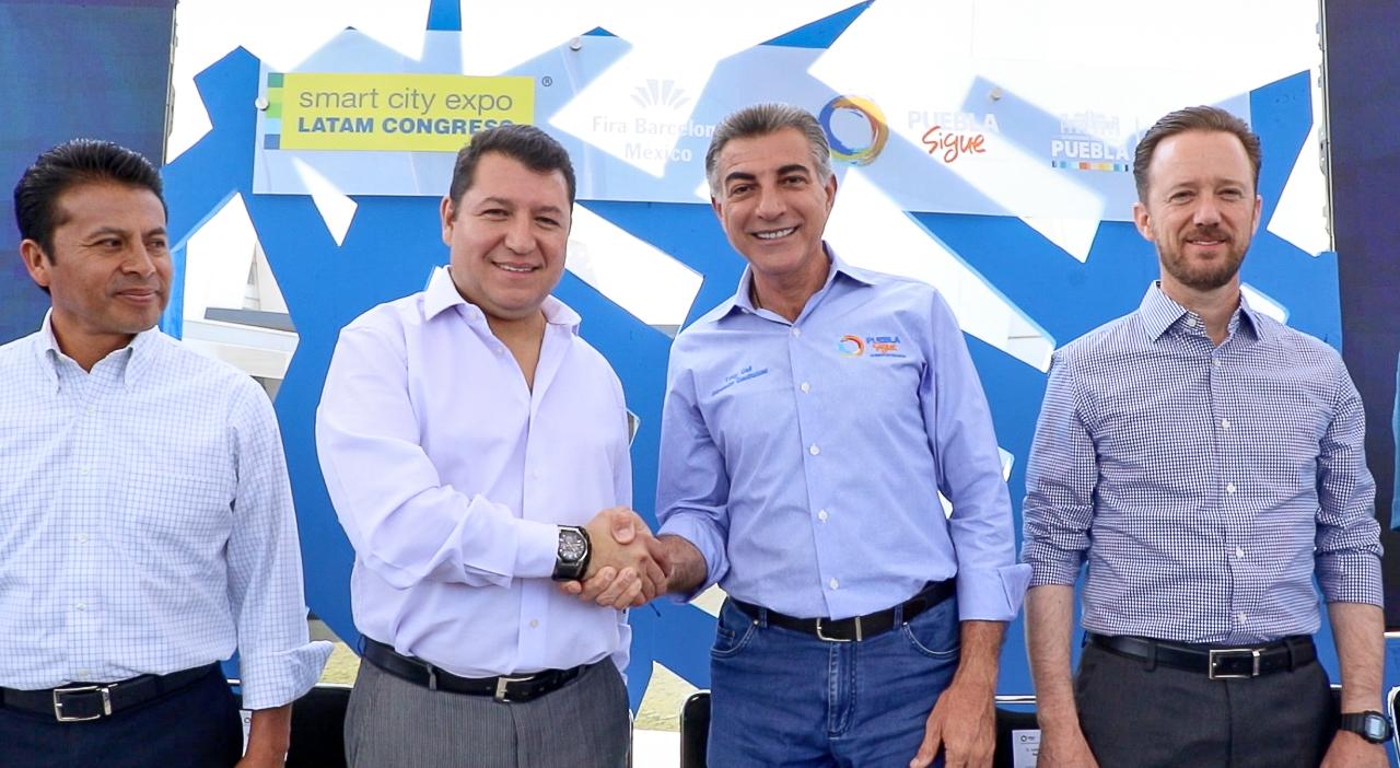 Antonio Gali y Manuel Redondo presentan Smart City Expo Latam Congress