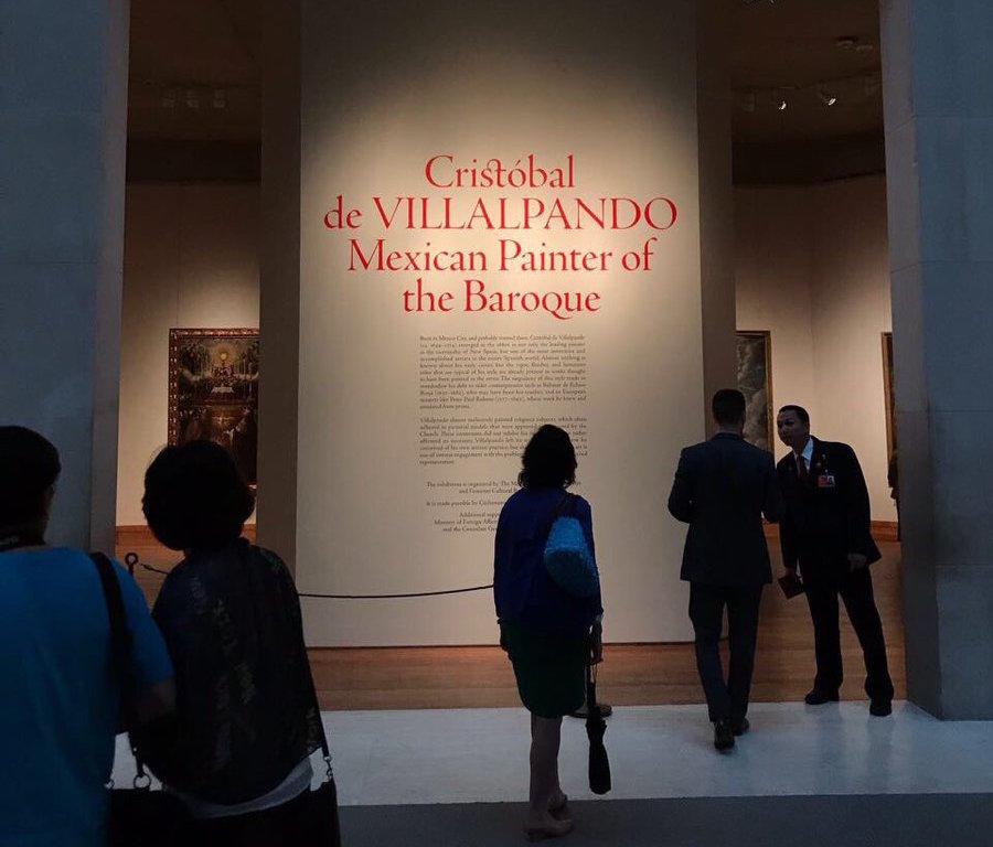 Expone Museo Metropolitano de Nueva York obra de Villalpando