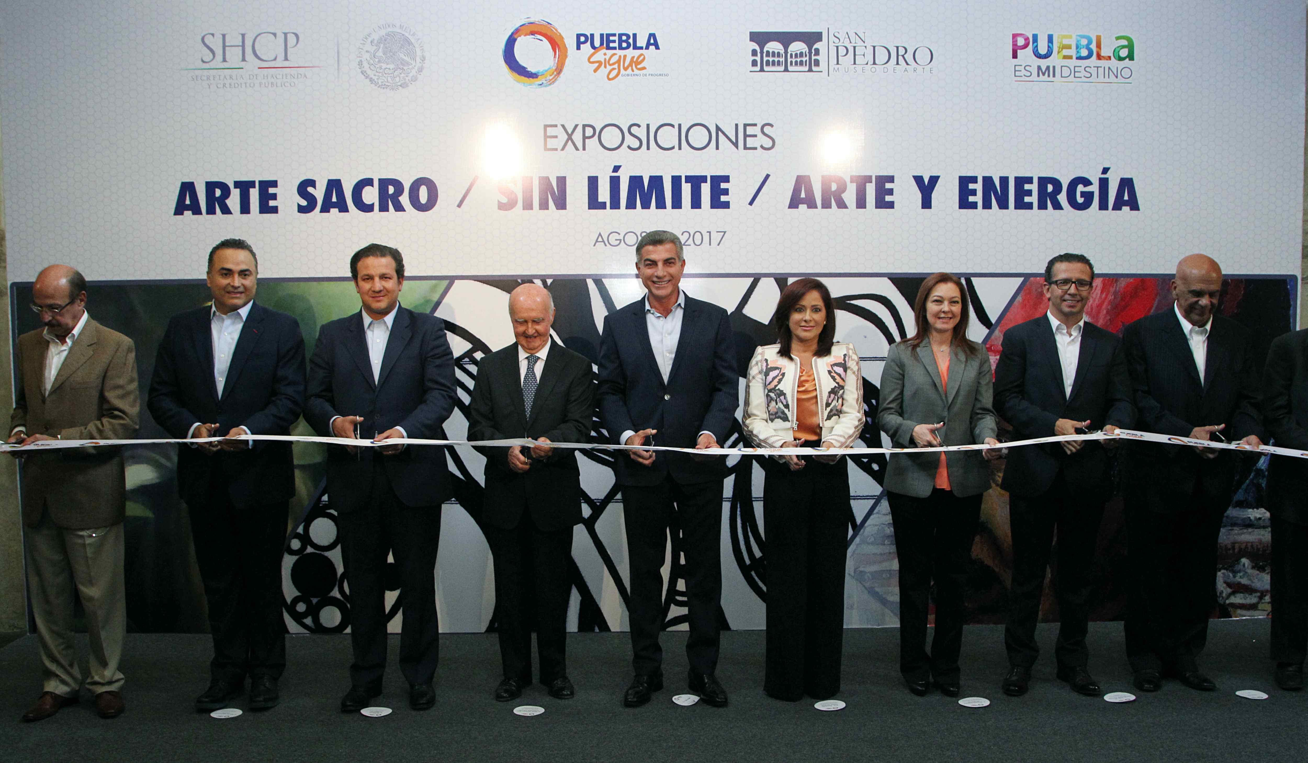 Inaugura Gali exposiciones Arte Sacro, Sin límite y Arte y energía