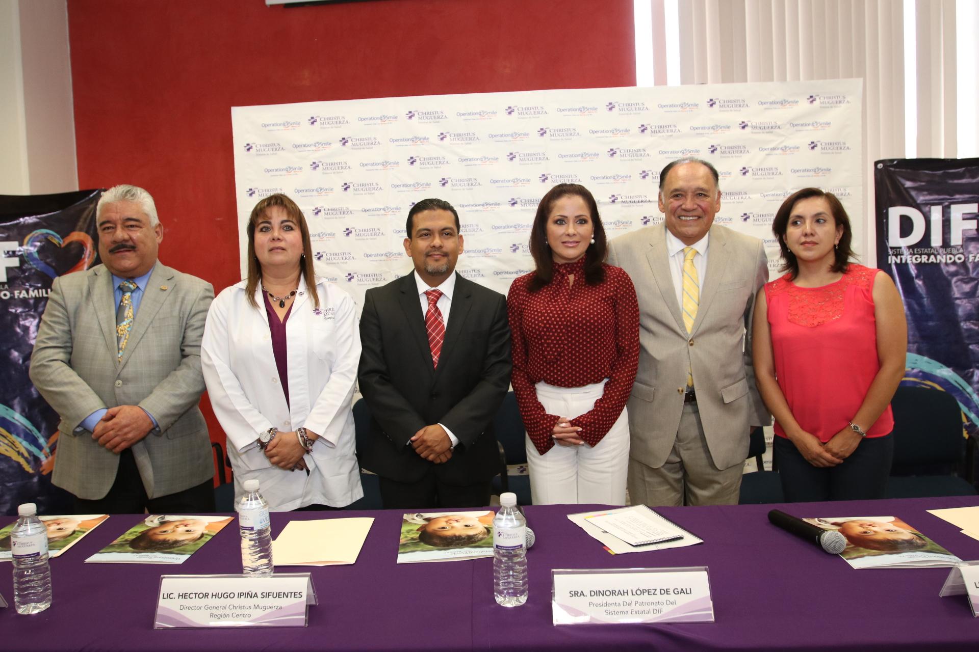 Presentan la  III Jornada de Cirugías Gratuitas de Labio y Paladar Hendido