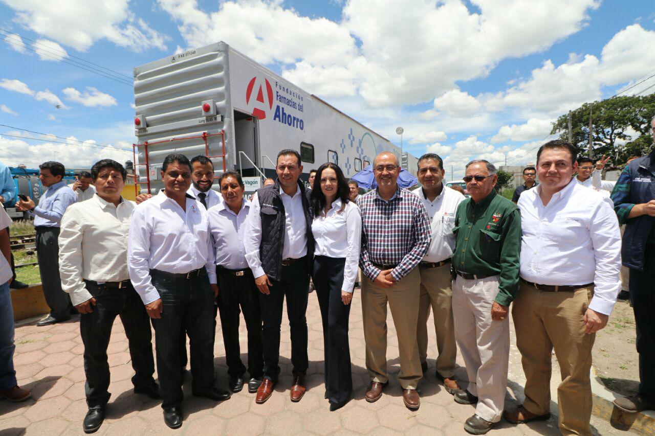 Gobierno y Grupo México llevan servicios médicos a comunidades