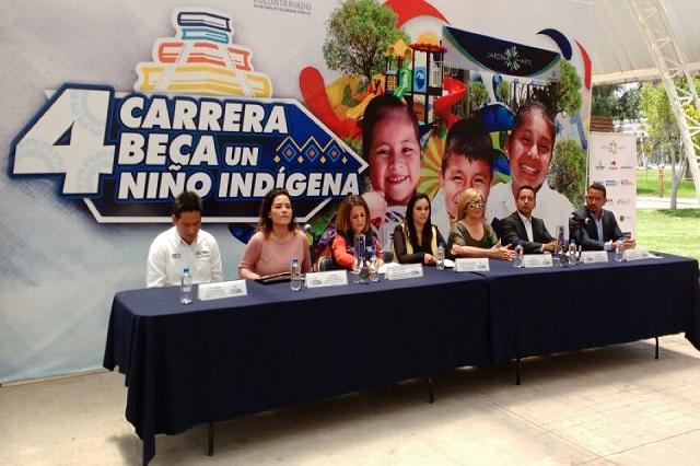 SSP y SEDIF presentan la cuarta carrera Beca a un niñ@ indígena