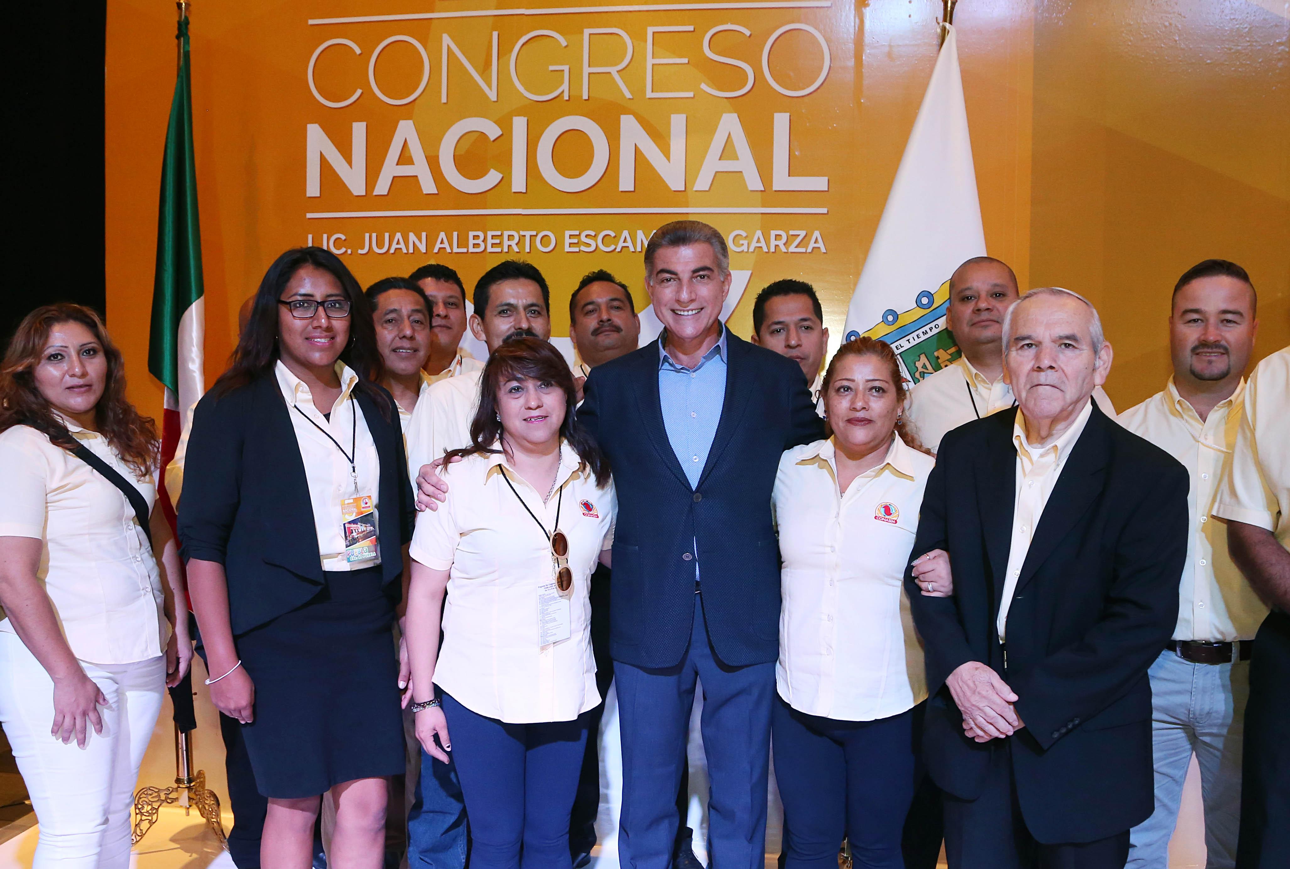 El gobernador Gali reconoce labor de los sindicatos mexicanos