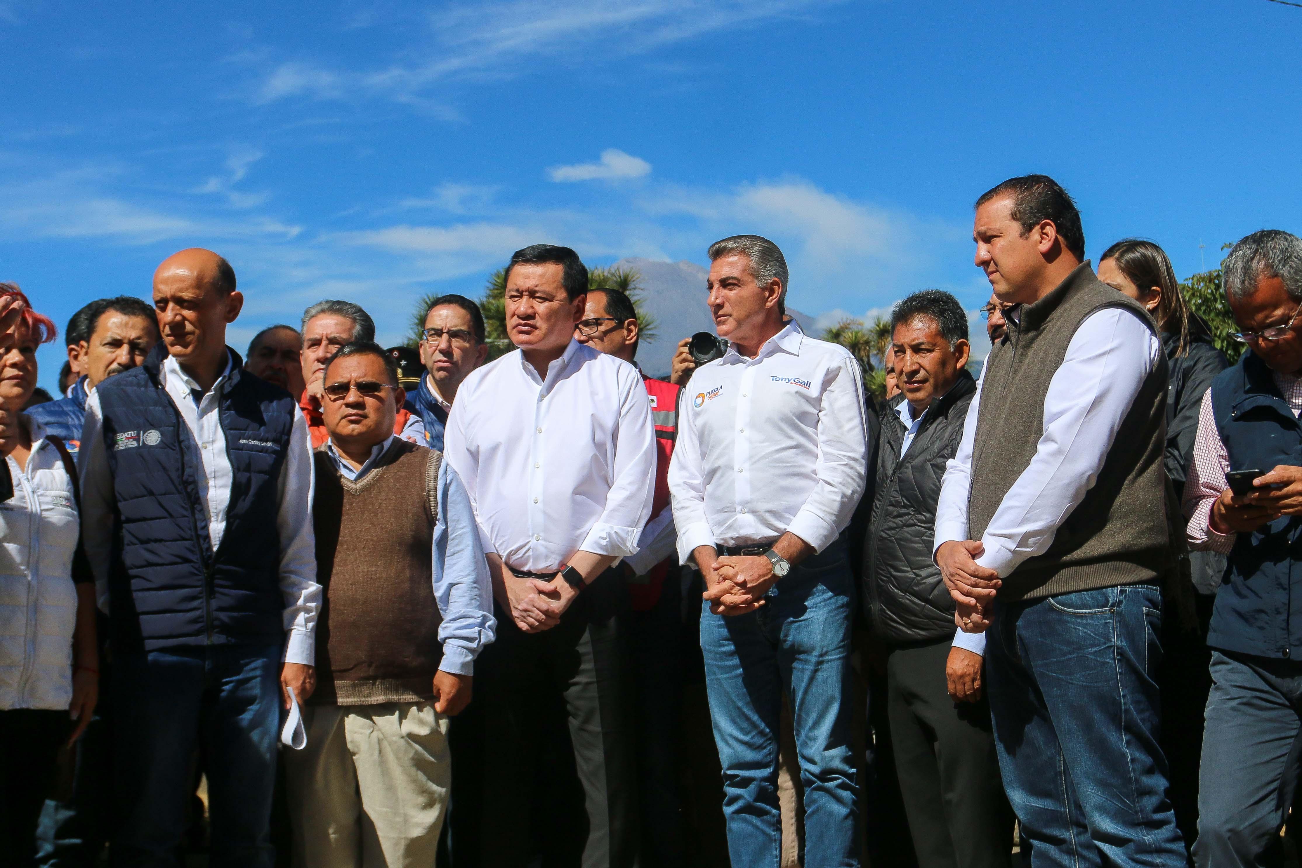Gali, ejemplo de liderazgo en la reconstrucción: Osorio Chong