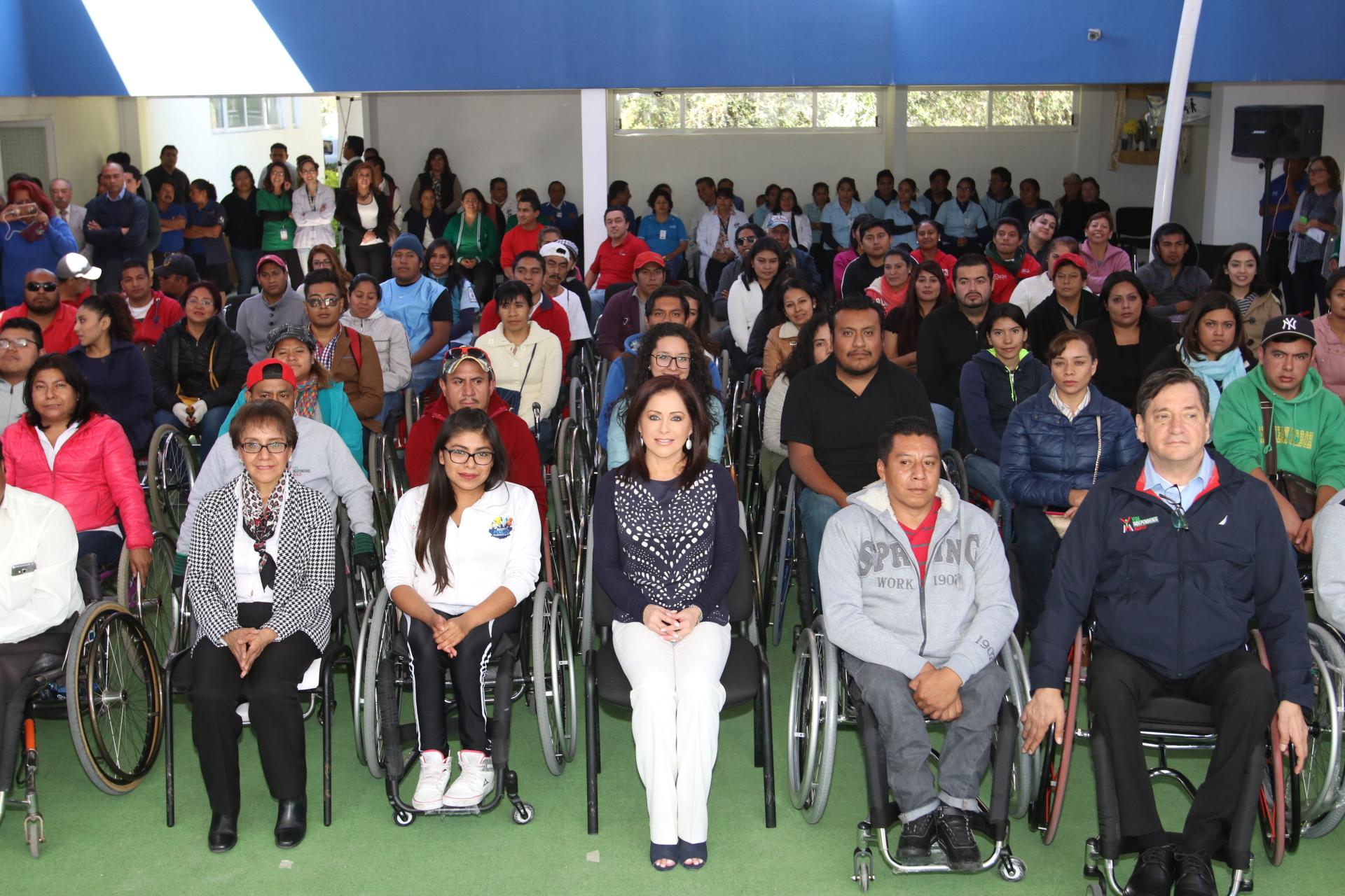 Encabeza López de Gali capacitación sobre inclusión de discapacitados