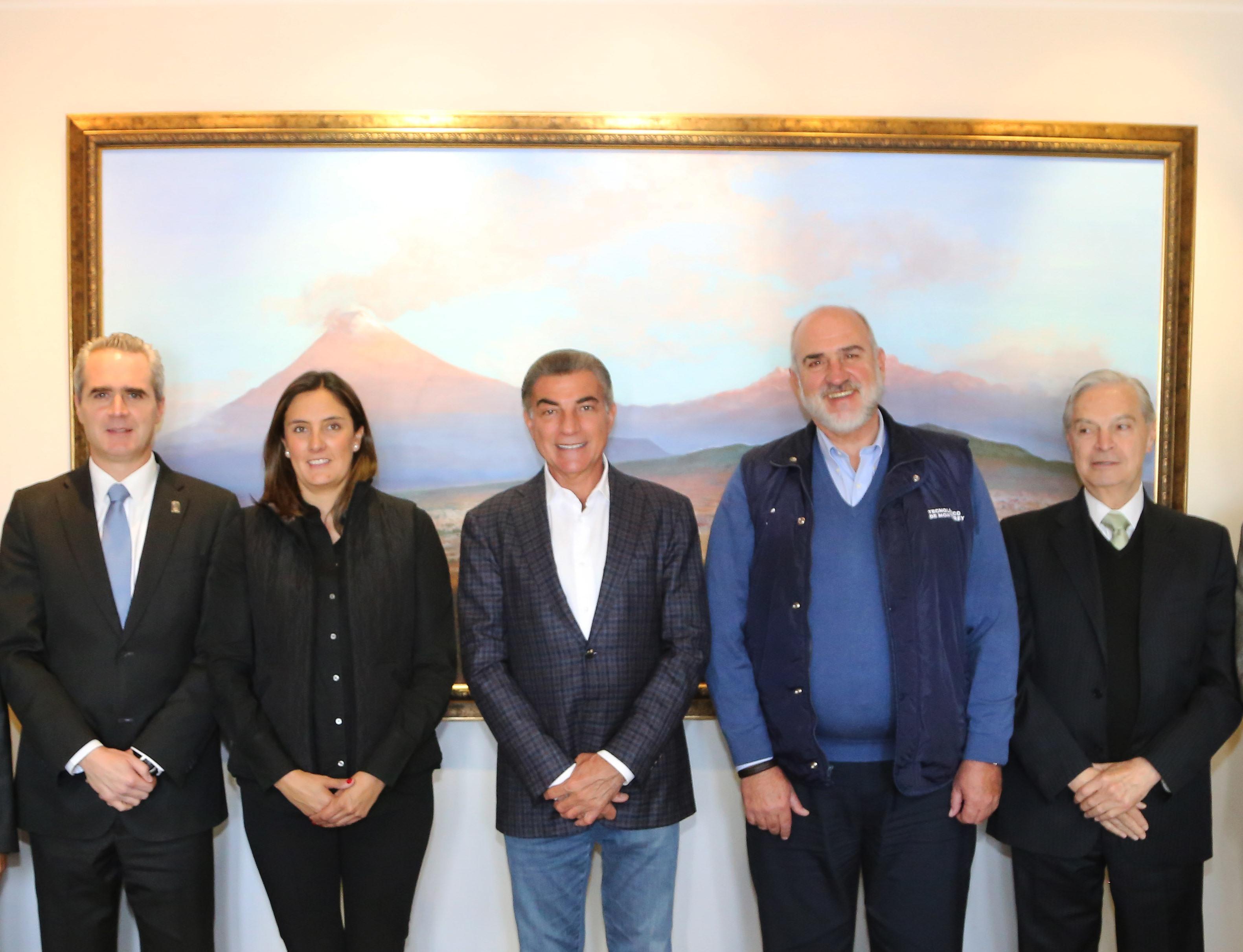 Reunión de trabajo del gobernador Gali y rectores del Consorcio Universitario