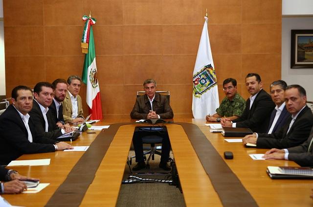 Se mantiene en Puebla combate frontal contra la delincuencia: Gali