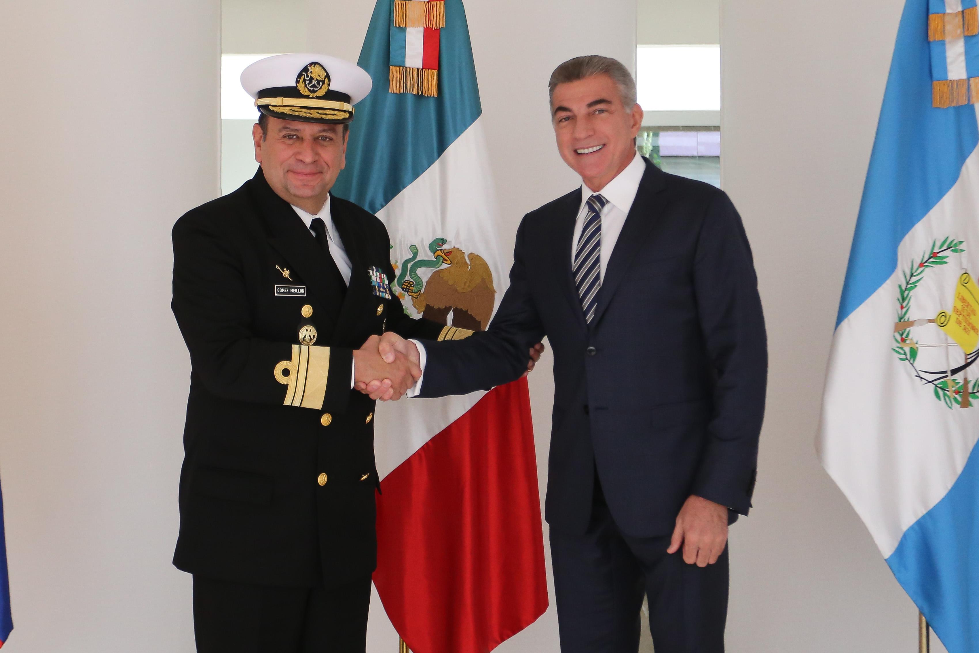 Mantiene Antonio Gali colaboración permanente con Secretaría de Marina