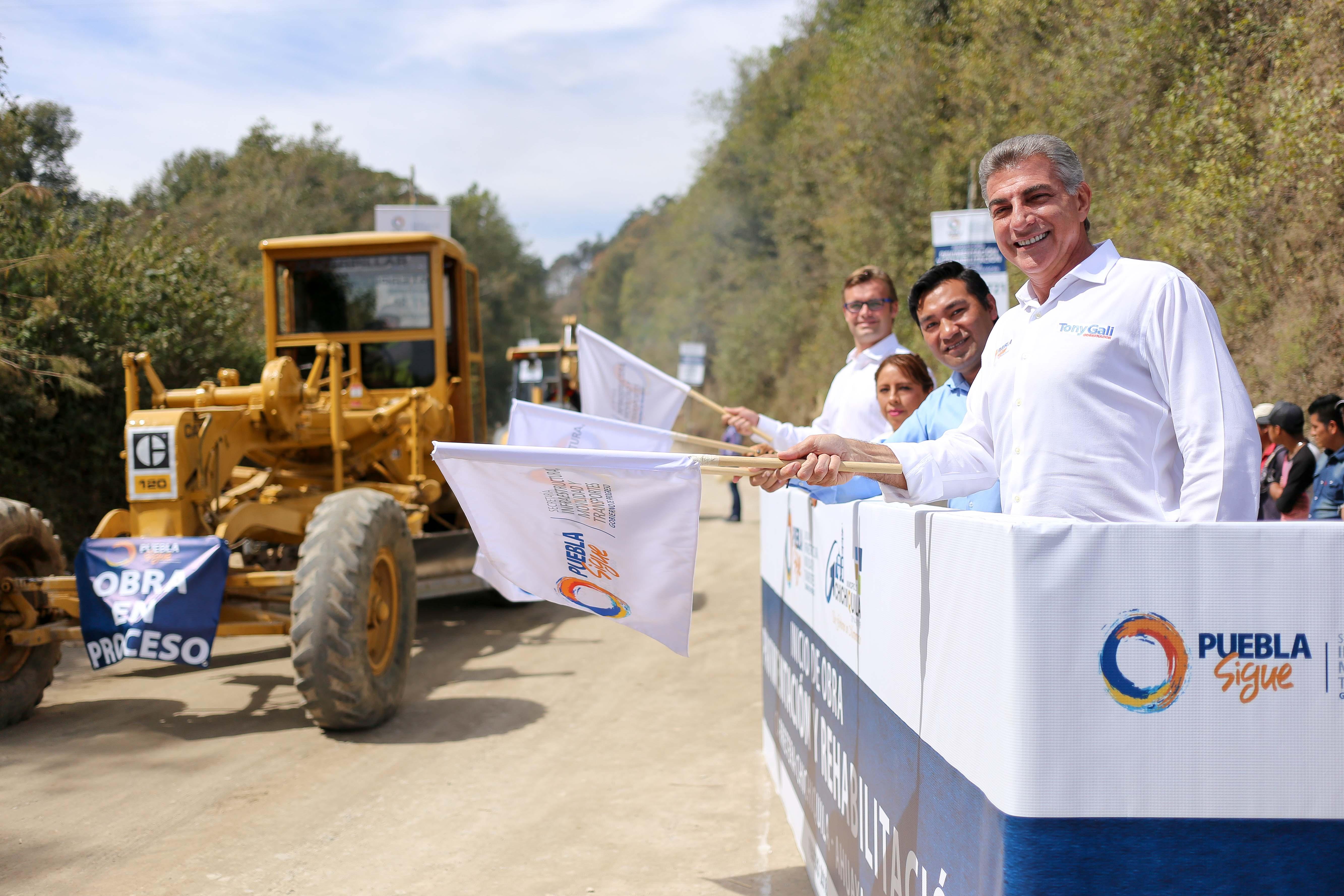 Pone en marcha Gali rehabilitación  de carretera Chichiquila-Ahuayacan