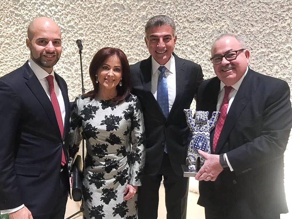 Gali participa en encuentro con  embajada de México en Alemania