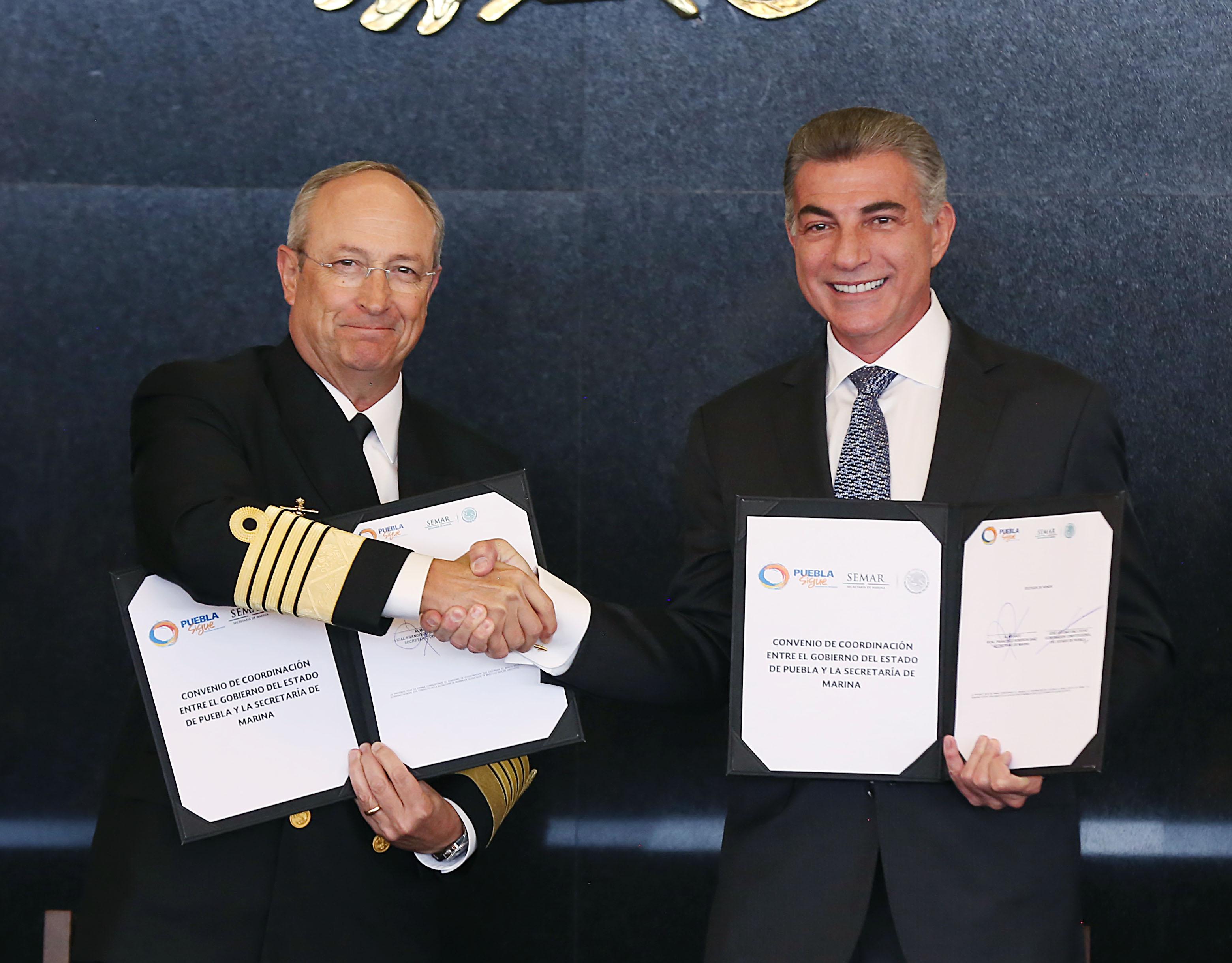 Construirán estación naval en San José Chiapa