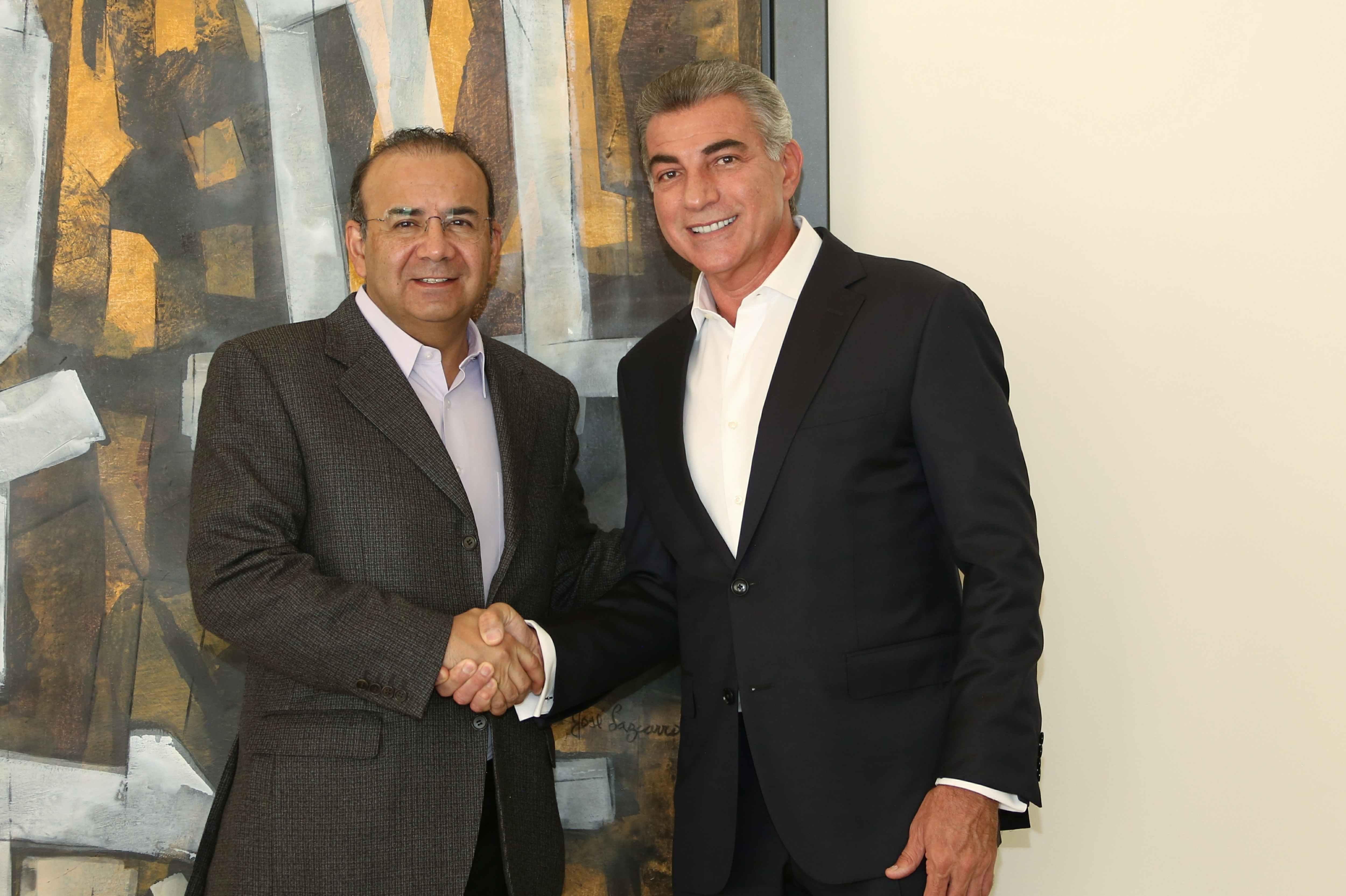 Se reúne Grupo de Coordinación Puebla Segura con Navarrete y Gali