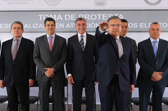 Instalan fiscalía para atender delitos electorales en Puebla