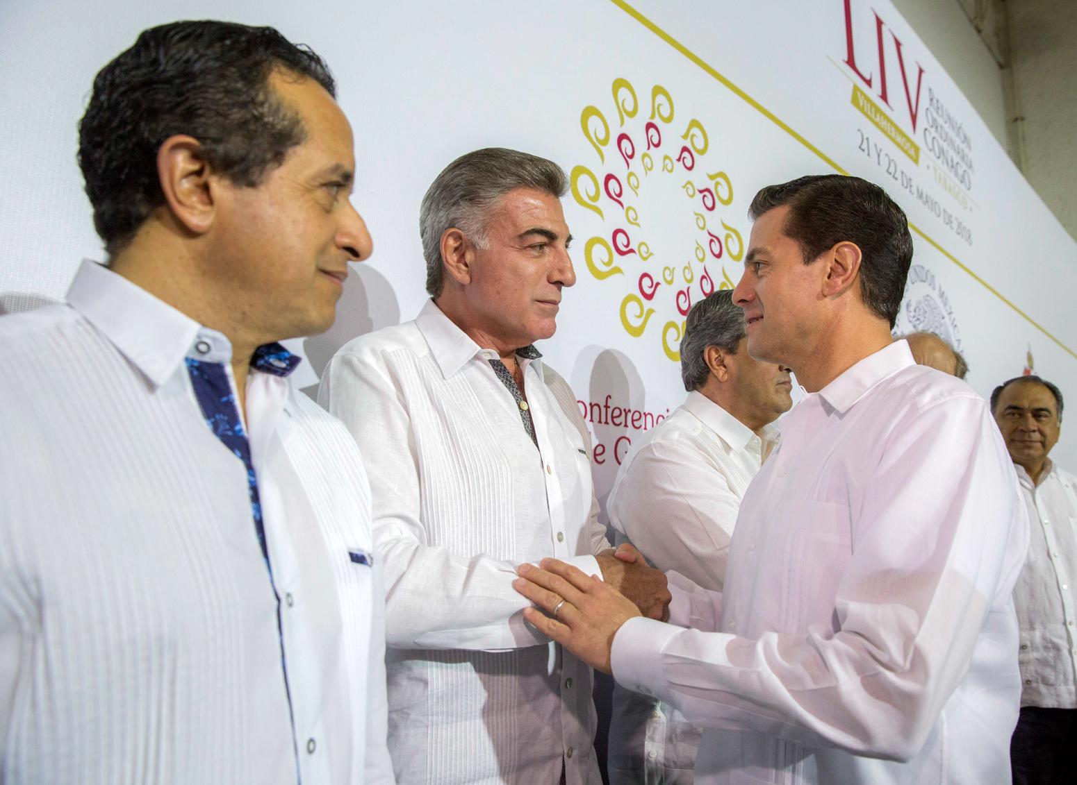 Antonio Gali asiste a la 54 reunión ordinaria de Conago, en Tabasco