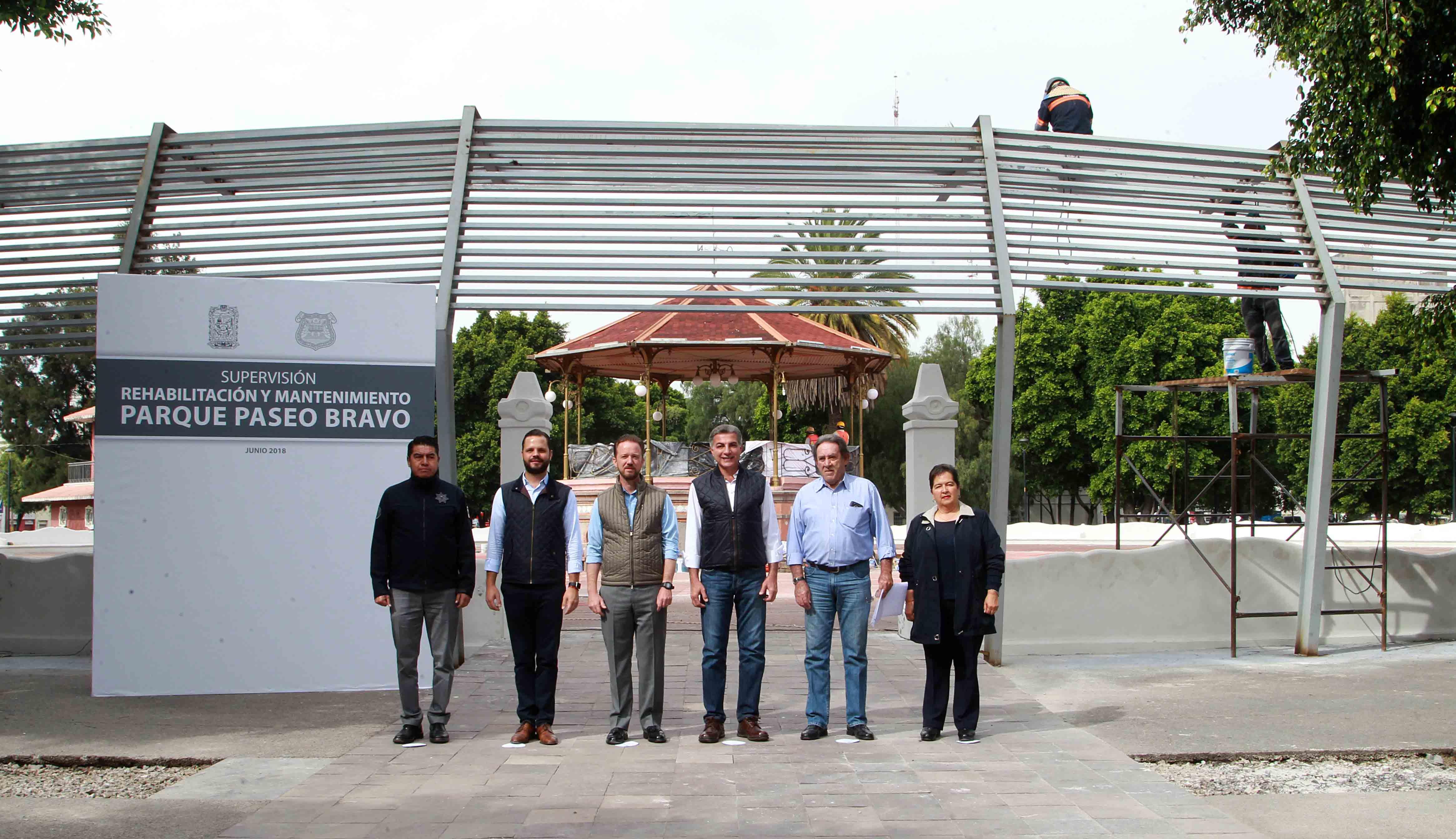 Paseo Bravo será preservado como punto de encuentro familiar: Gali