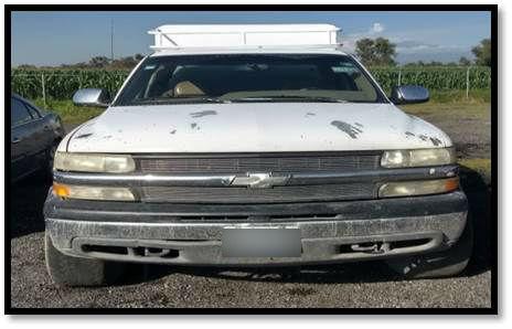 Policías estatales recuperan 9 vehículos robados en Puebla