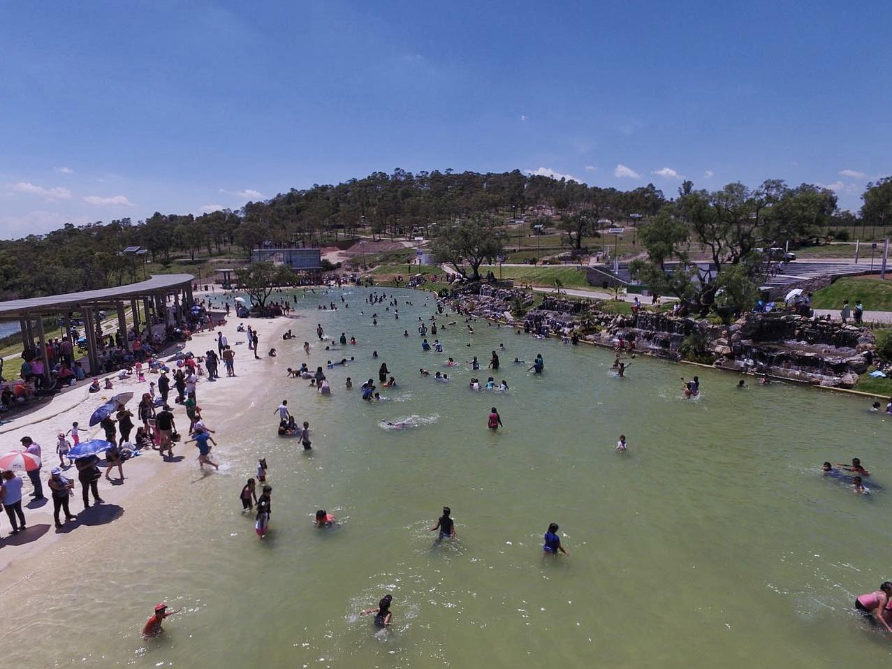 Parque Amalucan incentiva la  convivencia familiar de los poblanos