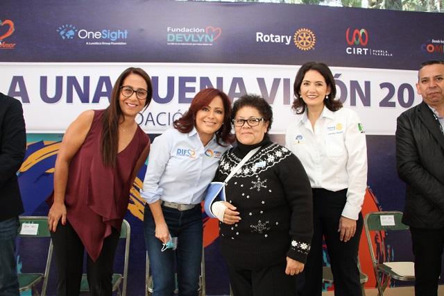 Exámenes y lentes gratis para 4 mil personas en Jornada de Salud Visual