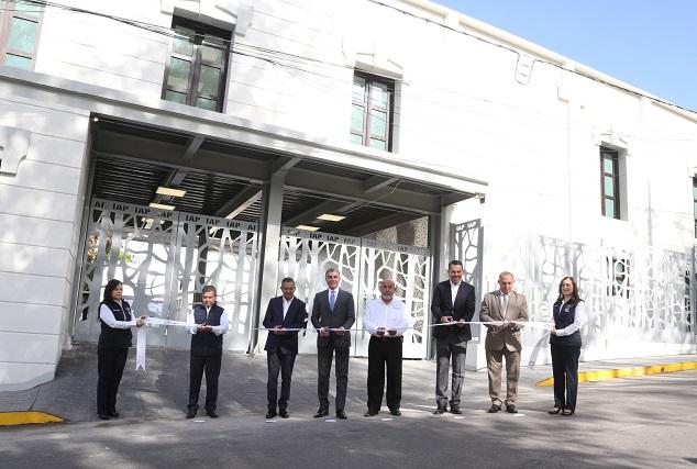 Gali inaugura obra de ampliación de sede del IAP