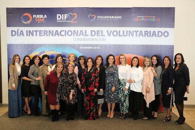 Reconoce SEDIF labor de los voluntariados estatales