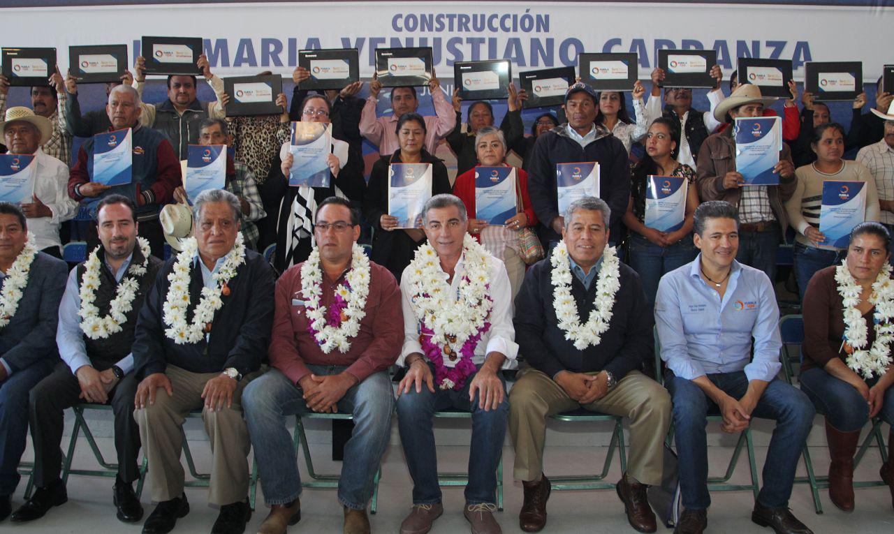 Infraestructura educativa de calidad en sierra nororiental, garantiza Gali