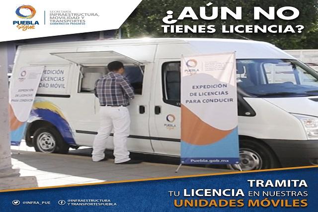 Sigue programa de expedición  de licencias en municipios