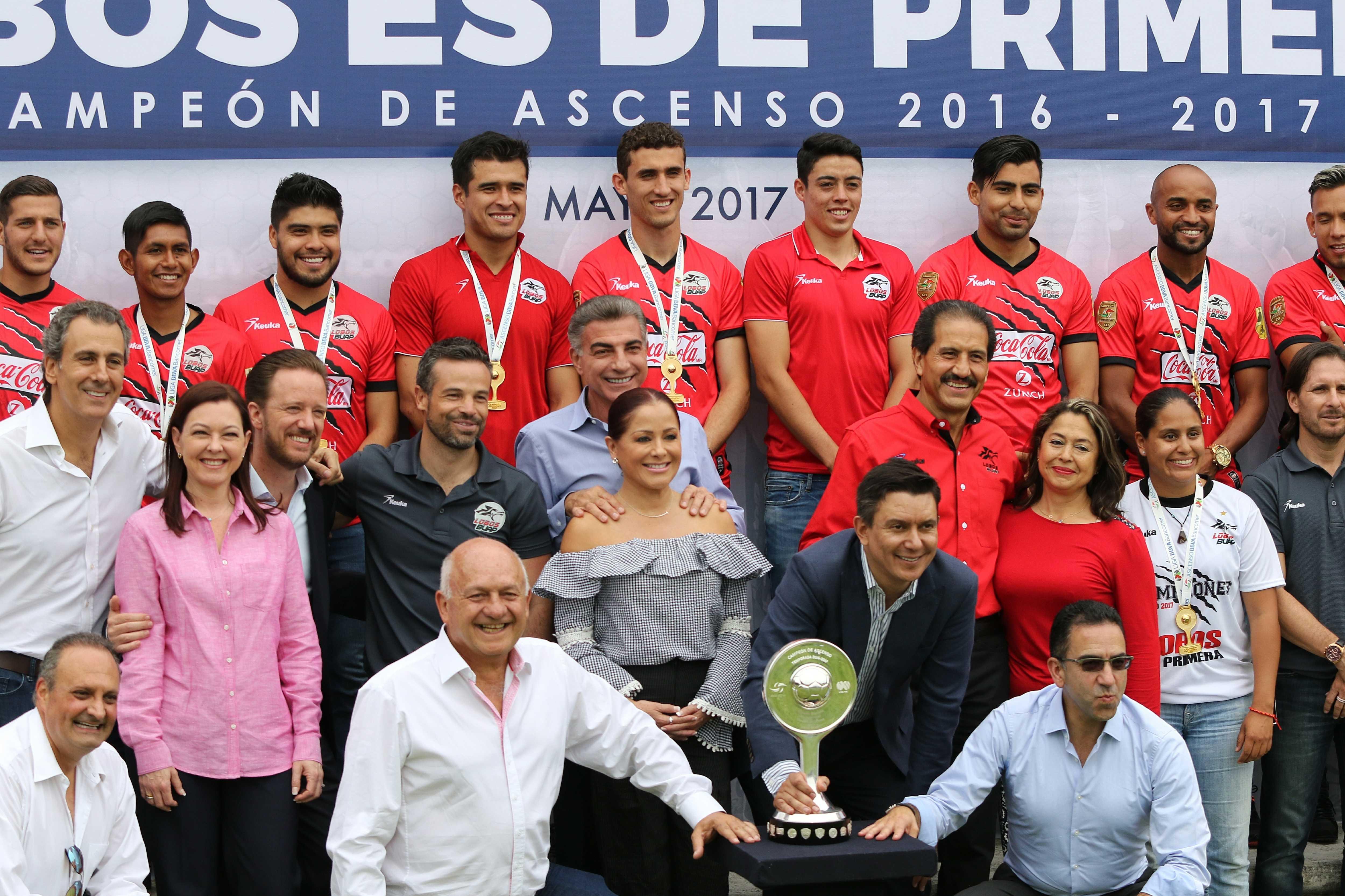 Lobos BUAP es orgullo para Puebla señala el gobernador Antonio Gali