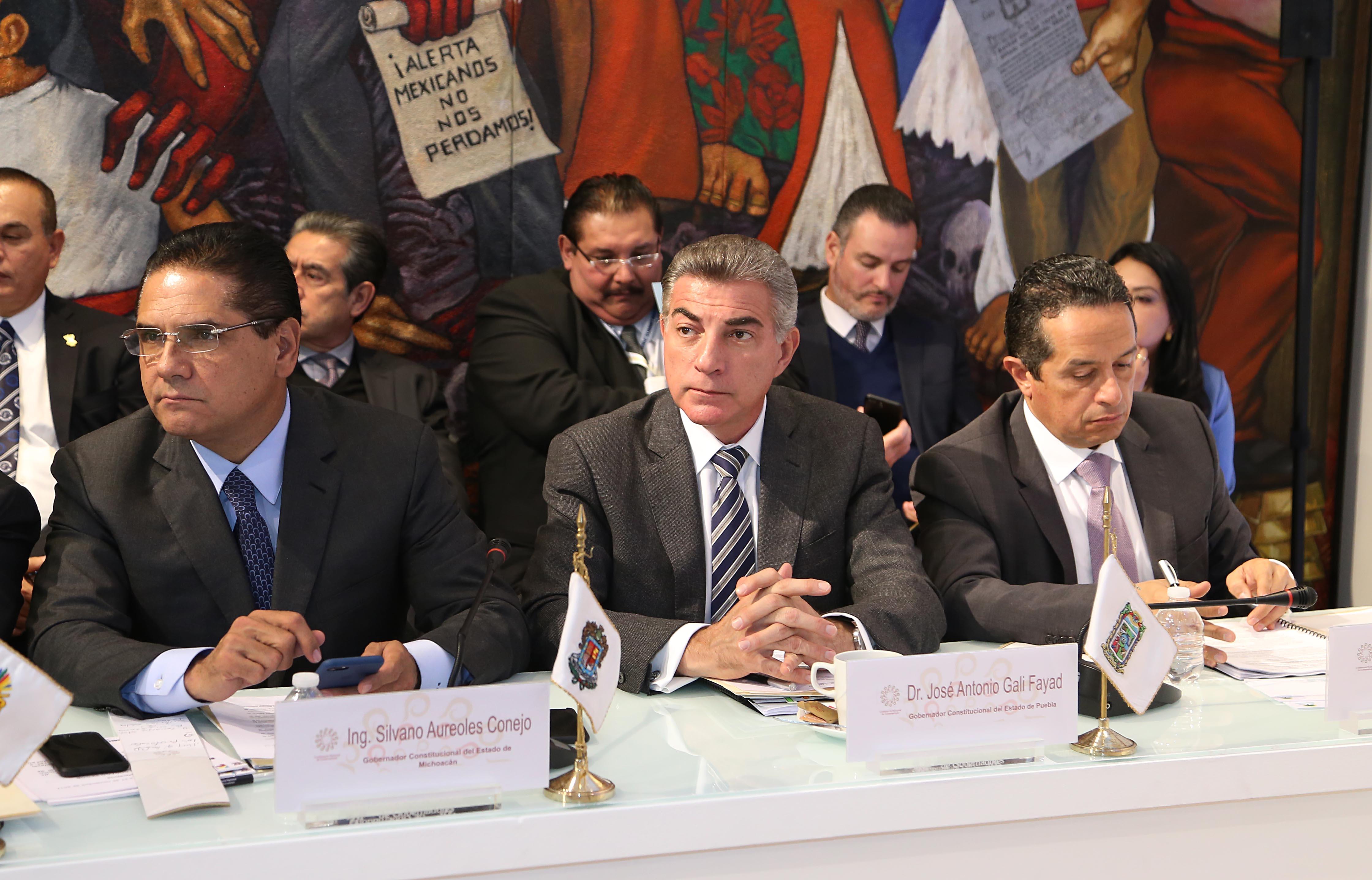Participa Gali en sesión de Conago sobre ley de desaparición de personas