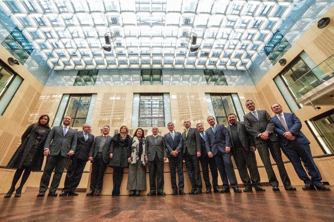 Antonio Gali asiste a sesión del Consejo Federal de Alemania