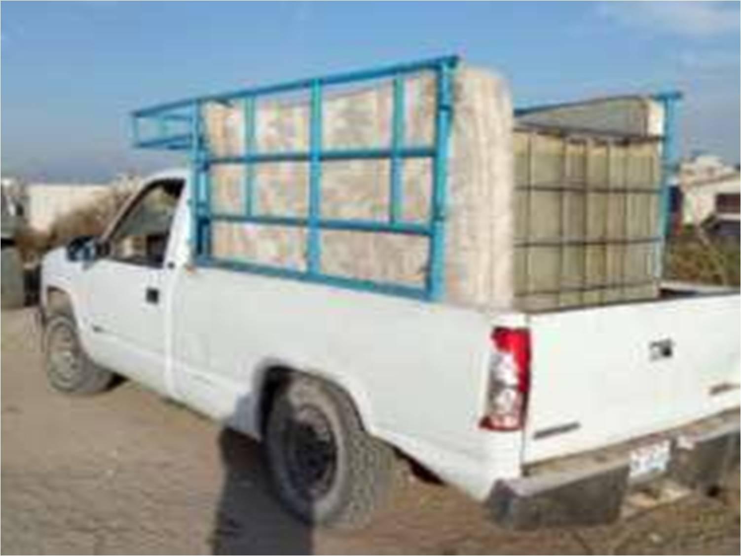 Policía Estatal recuperó ocho vehículos y dos cajas secas