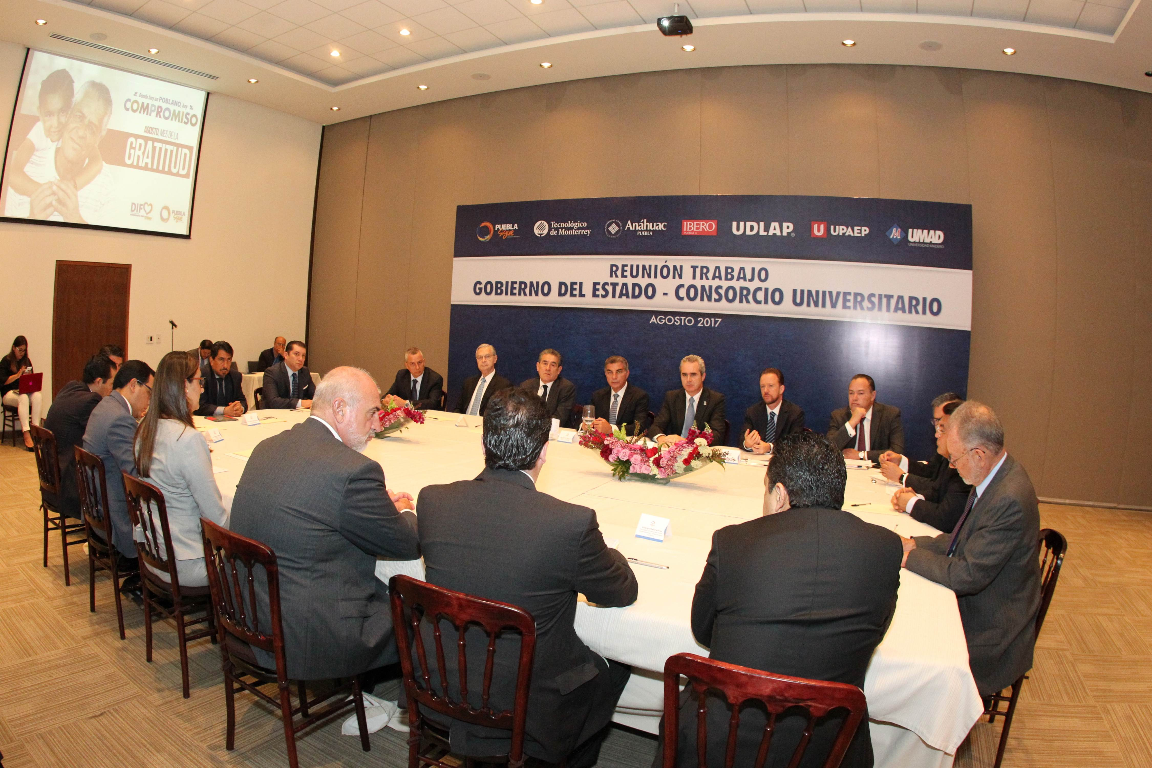 Gali y rectores dan seguimiento a  acuerdos sobre educación y seguridad